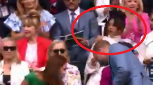 Disguise William and Kate worldwide: they arrive at Wembley and ... Eye to the gesture of Meghan Markle's best friend |  Video