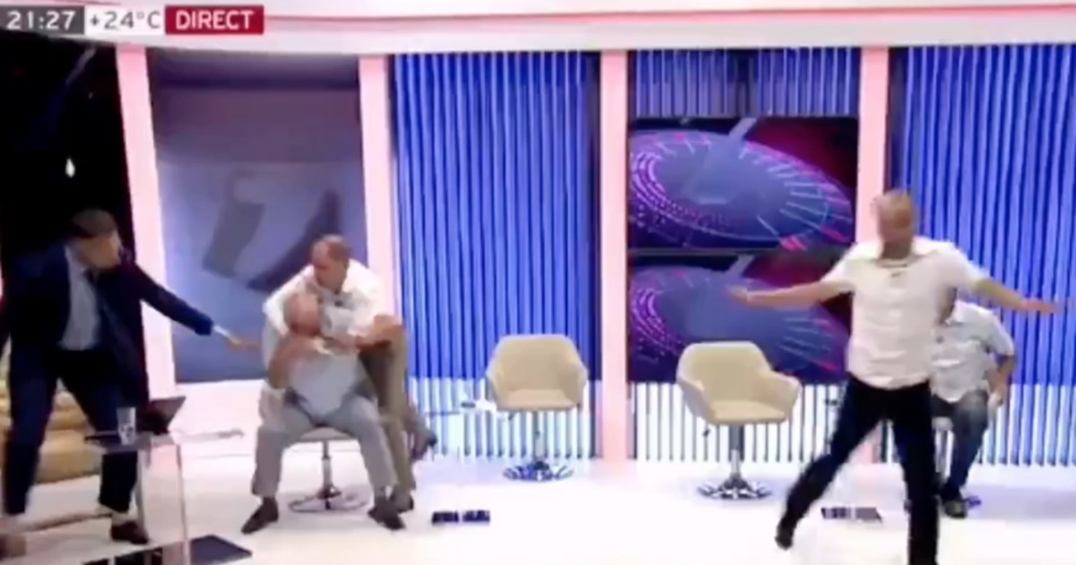 Strangled on live TV: former deputy minister fainted, panicked    Video