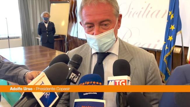 """Urso: """"La Sicilia regione di frontiera per rischi e minacce a Italia e Ue'"""