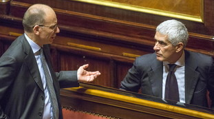 Because Cassini is Enrico Lotta's new dream.  Quirinal, First Abacus: Is Renzi crushing the Democrats again?