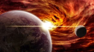 Now in space: a complete catastrophe, they're devouring millions of worlds