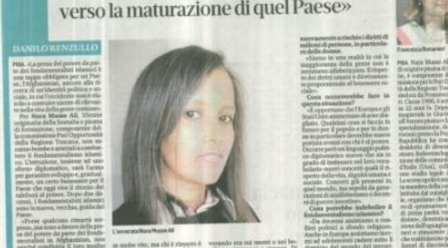 Porque eu apoio o retorno do Talibã.  Esta mulher está perturbando a política italiana.  Salvini fora de si: Lita, o que você está dizendo agora?