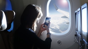 You risk complete loss of the signal.  What not to do on the trip