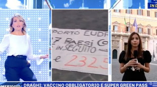 Red Light Slip to Barbara Dorso: Commitment....please?  Astronomical frost on Canal 5 |  Video