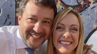 This is our fate.  Salvini-Meloni, the photo that wipes out the delusions of the left (and a message to the Cav)