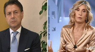 But doesn't even make the horns?.  Myrta Merlino ridicules Giuseppe Conte: The collapse of a defeated born leader on TV |  Video