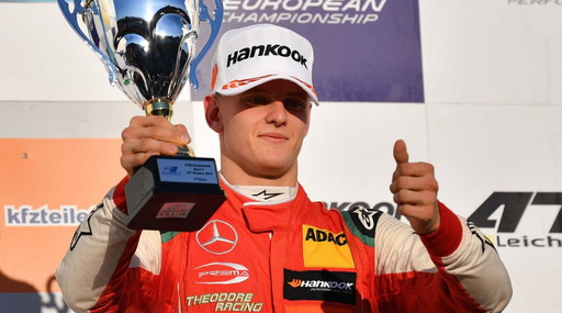 On the track they make me weigh it.  Talk Mick, that's what it means to be Schumacher's son