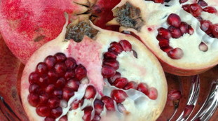 Pomegranate, do you throw away the seeds?  A bad idea - here's what you can get out of it