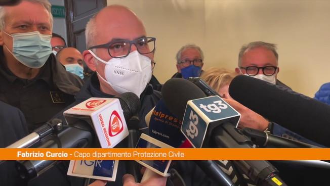 Maltempo, Curcio a Catania: 'Non è finita, tenere alta l'attenzione'