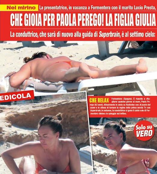 Perego nackt Paola  Tatort Zuri