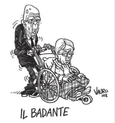 Giorgio Napolitano e il golpe, la clamorosa vignetta di Vauro in ...