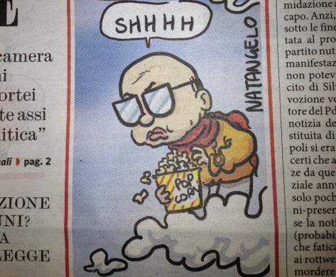 La vignetta del Fatto: Craxi in Paradiso (pur di mandare Berlusconi all' inferno) – Libero Quotidiano