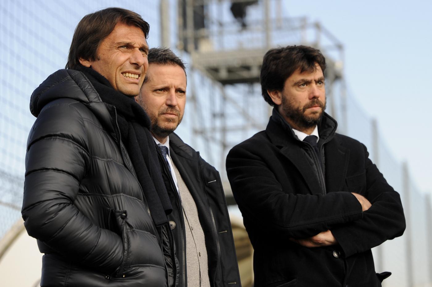 Juventus, Andrea Agnelli punge Antonio Conte ...